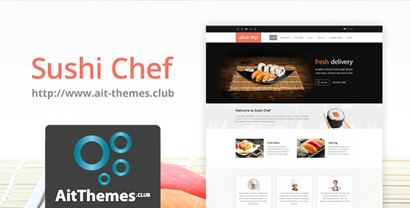 Download AIT Sushi WordPress Theme wordpress themes gpl licenced not nulled not cracked for free