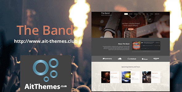 Download AIT Band WordPress Theme wordpress themes gpl licenced not nulled not cracked for free