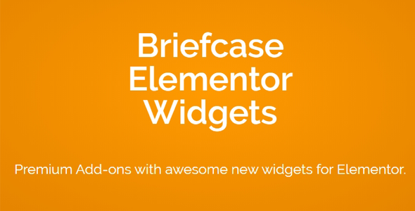 Download Briefcase Elementor Widgets Wordpress Plugins gpl licenced not nulled not cracked for free