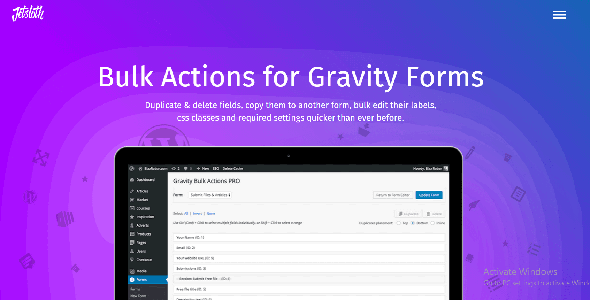 Download Gravity Forms Bulk Actions Pro Wordpress Plugins gpl licenced not nulled not cracked for free