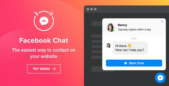 Download Elfsight Facebook Chat Plugin Wordpress Plugins gpl licenced not nulled not cracked for free