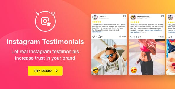 Download Elfsight Instagram Testimonials Wordpress Plugins gpl licenced not nulled not cracked for free