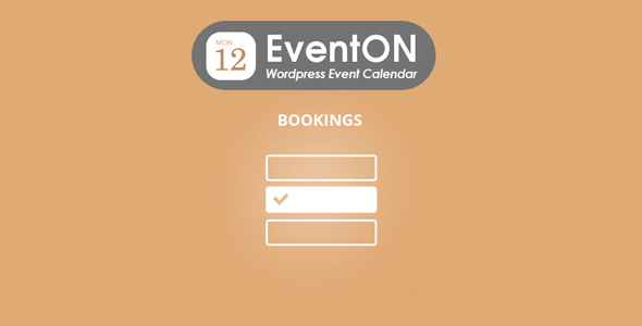 Download EventOn Bookings Add-on Wordpress Plugins gpl licenced not nulled not cracked for free