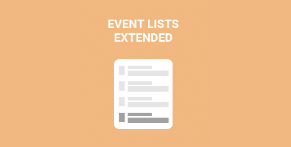 Download EventOn Events Lists Extended Add-on Wordpress Plugins gpl licenced not nulled not cracked for free