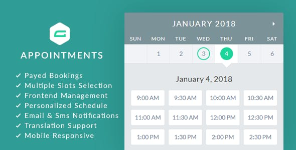 Download gAppointments  – Appointment for Gravity Forms Wordpress Plugins gpl licenced not nulled not cracked for free