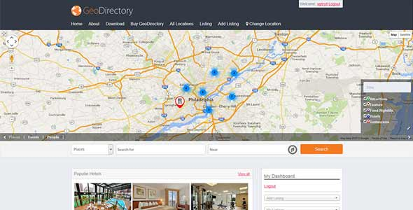 Download GeoDirectory Framework Wordpress Plugins gpl licenced not nulled not cracked for free