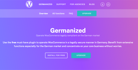 Download WooCommerce Germanized Pro Wordpress Plugins gpl licenced not nulled not cracked for free