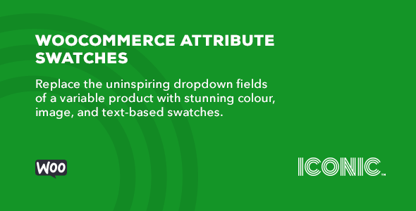 Download Iconic WooCommerce Attribute Swatches Wordpress Plugins gpl licenced not nulled not cracked for free