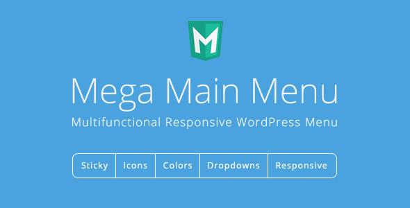 Download Mega Main Menu  – WordPress Menu Plugin Wordpress Plugins gpl licenced not nulled not cracked for free