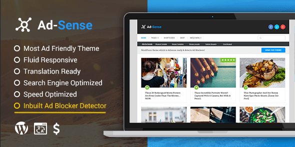Download MyThemeShop Ad-Sense WordPress Theme wordpress themes gpl licenced not nulled not cracked for free