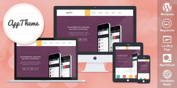 Download MyThemeShop Apptheme WordPress Theme wordpress themes gpl licenced not nulled not cracked for free