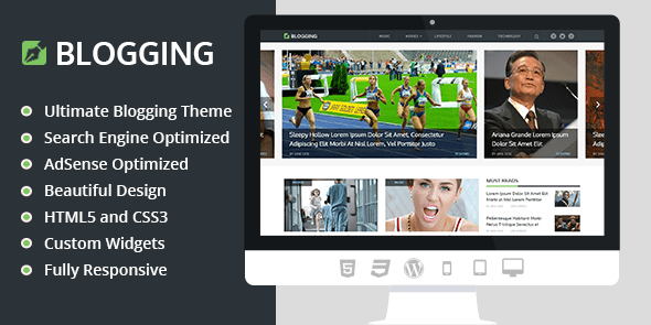 Download MyThemeShop Blogging WordPress Theme wordpress themes gpl licenced not nulled not cracked for free
