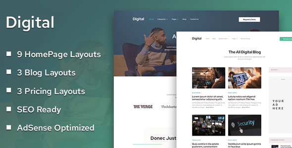 Download MyThemeShop Digital WordPress Theme wordpress themes gpl licenced not nulled not cracked for free