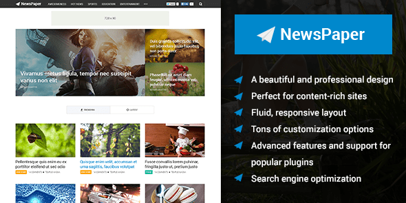 Download MyThemeShop Newspaper WordPress Theme wordpress themes gpl licenced not nulled not cracked for free