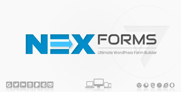 Download NEX-Forms  – The Ultimate WordPress Form Wordpress Plugins gpl licenced not nulled not cracked for free