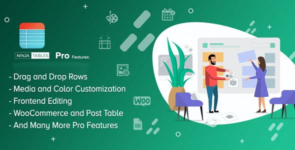 Download Ninja Tables Pro  – The Fastest Table Plugin Wordpress Plugins gpl licenced not nulled not cracked for free