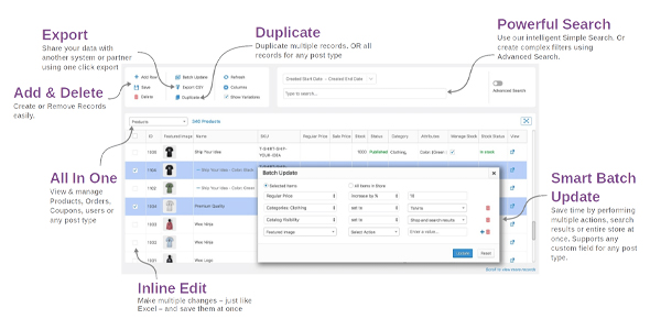 Download Smart Manager Pro For WooCommerce Wordpress Plugins gpl licenced not nulled not cracked for free