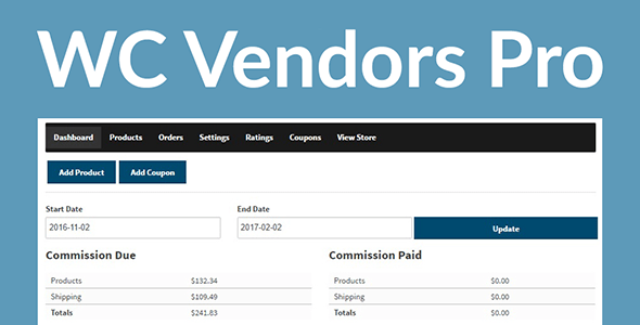 Download WC Vendors Pro  – WordPress Marketplace Wordpress Plugins gpl licenced not nulled not cracked for free