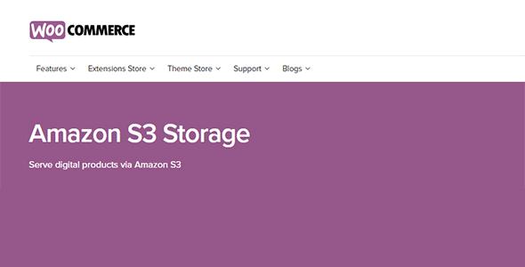 Download WooCommerce Amazon S Storage Wordpress Plugins gpl licenced not nulled not cracked for free