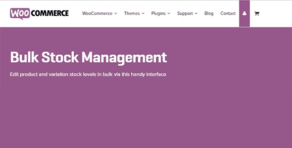 Download WooCommerce Bulk Stock Management Wordpress Plugins gpl licenced not nulled not cracked for free