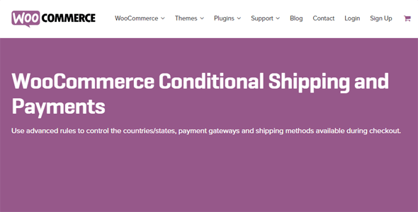 Download WooCommerce Conditional Shipping & Payments Wordpress Plugins gpl licenced not nulled not cracked for free