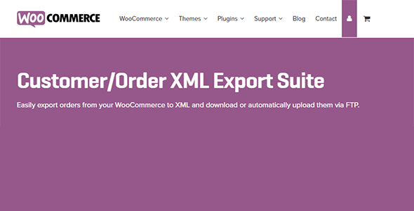 Download WooCommerce Customer Order XML Export Suite Wordpress Plugins gpl licenced not nulled not cracked for free