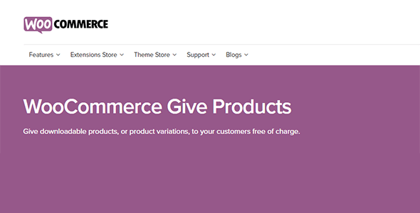 Download WooCommerce Give Products Wordpress Plugins gpl licenced not nulled not cracked for free
