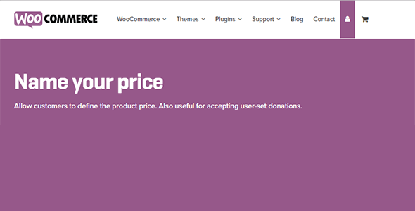 Download WooCommerce Name Your Price Wordpress Plugins gpl licenced not nulled not cracked for free