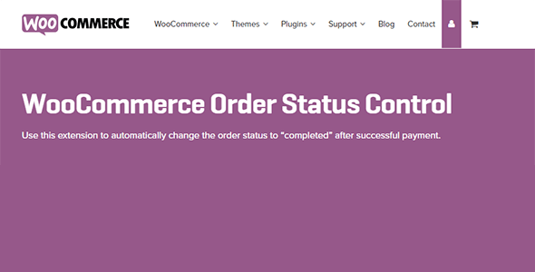 Download WooCommerce Order Status Control Wordpress Plugins gpl licenced not nulled not cracked for free