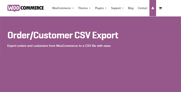 Download WooCommerce Customer Order CSV Export Wordpress Plugins gpl licenced not nulled not cracked for free