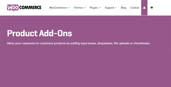 Download WooCommerce Product Add-ons Wordpress Plugins gpl licenced not nulled not cracked for free