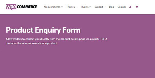 Download WooCommerce Product Enquiry Form Wordpress Plugins gpl licenced not nulled not cracked for free