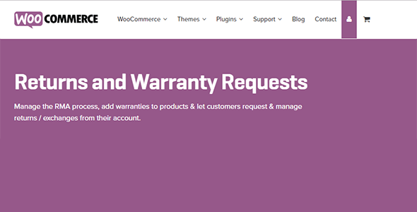 Download WooCommerce Returns Warranty Request Wordpress Plugins gpl licenced not nulled not cracked for free
