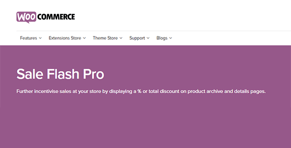 Download WooCommece Sale Flash Pro Wordpress Plugins gpl licenced not nulled not cracked for free