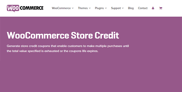 Download WooCommerce Store Credit Wordpress Plugins gpl licenced not nulled not cracked for free