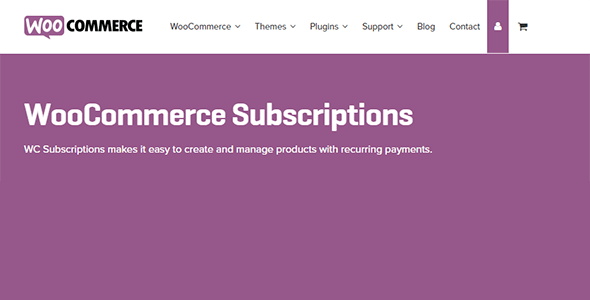 Download WooCommerce Subscriptions Wordpress Plugins gpl licenced not nulled not cracked for free