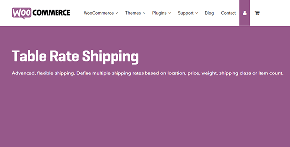 Download WooCommerce Table Rate Shipping Wordpress Plugins gpl licenced not nulled not cracked for free