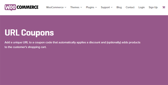 Download WooCommerce URL Coupons Wordpress Plugins gpl licenced not nulled not cracked for free