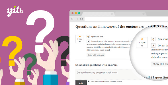 Download YITH Questions and Answers Premium Wordpress Plugins gpl licenced not nulled not cracked for free