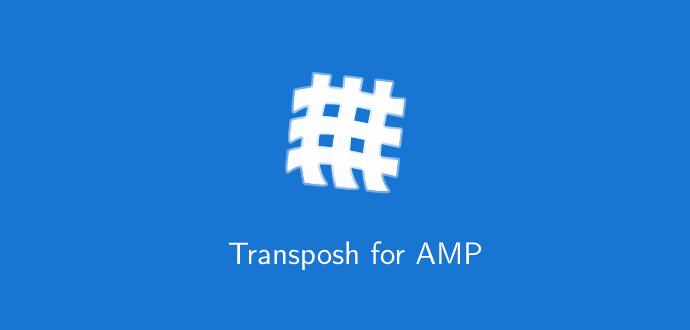 ExternalLink Transposh for AMP