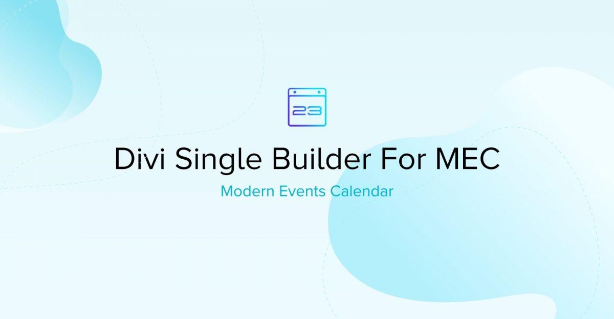 ExternalLink mec divi single builder